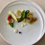 レストラン ラグラース - ランチミニコースの前菜