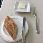 レストラン ラグラース - ランチミニコース、ブレッド