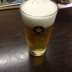 (有)旭屋酒店 - とり生ビール