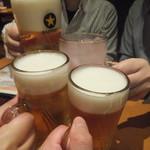 まんたろー - ビールで乾杯(2018.5.5)