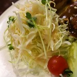 とん助 - トンカツ(大):サラダ
