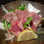 福牛 - ☆肉刺しの軽~い炙り☆