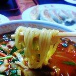 8740519 - スタミナラーメン八丁目 麺リフト
