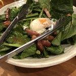 SaCURA - ほうれん草のサラダ