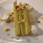 87401171 - 北海道産ホワイトアスパラと燻製モツァレラチーズ