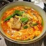 焼肉レストラン ひがしやま - カルビ温麺