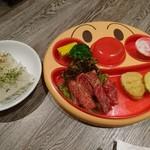 焼肉レストラン ひがしやま - 子どもカルビプレート