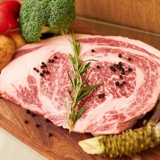 【お肉へのこだわり】一次問屋直送のA5ランクの黒毛和牛料理