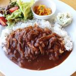 カフェ・キューブリック - 料理写真:人気のハヤシライス
