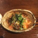 琉球市場やちむん - 料理写真:お通し