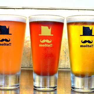 【エリア唯一】日本各地のクラフトビールが‶飲み放題″!