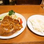 洋食の店とん助 - 料理写真:Wポークチャップ & ライス