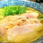 麺屋一燈 - 地鶏そば 850円 伊藤CEOのそれ 250円