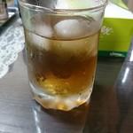 福食堂 - 冷たい麦茶。