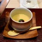 87411803 - 百合根の茶碗蒸し