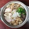 アサヒ - 料理写真:鍋焼玉子うどん