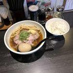 麺屋宗 - 肉まきそば & ライス