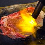 伊万里牛 炙りすき焼き