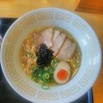 87415180 - 阿波地鶏塩らぁ麺(並)
