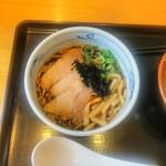 87415187 - 黒醤油らぁ麺(ミニ)