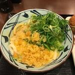 丸亀製麺 - 釜玉うどん(並、350円)