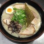 """食""""留麺 - チャーシュー麺"""