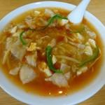 麺や二代目 夜来香 - スーラータンメン(中辛)750円