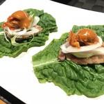 クロウドキッチン - 料理写真:一口サムギョプサル 600yen