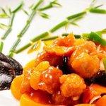 中国料理 シルクロード - 酢豚 750円