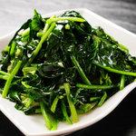 中国料理 シルクロード - 青菜炒め 580円