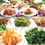 中国料理 シルクロード - 140種150分オーダー式食べ飲み放題コース 3680円、 100種食べ放題のみ 2580円