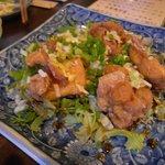 菜酒家FU-KU - やんばる若鶏の黒酢ソース[840円]