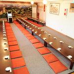 中華料理 萬珍館 - 100名様までOKの座敷宴会場 カラオケ無料です♪