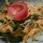 本格インド料理マダルインディア - 料理写真:サラダ