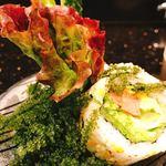 琉球回転寿司 海來 - 海ぶどうの量がすごいです(≧∀≦)