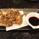 琉球回転寿司 海來 - 県産もずく天ぷら