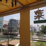 星期菜ヌードル&シノワ - 席からの眺め