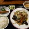 中華 壺仙 - 料理写真:ニラレバ野菜炒め定食