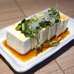究極の塩だし そば助 - 豆腐