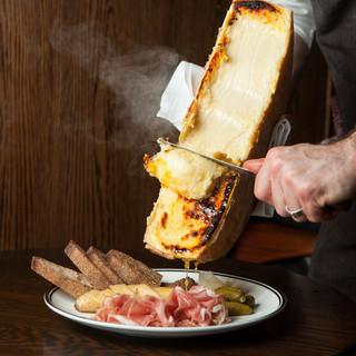 話題沸騰中のラクレットチーズが登場!