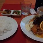 コトコトキッチン - 料理写真:日替わりランチ 食後にコーヒーつけました。1,000円です