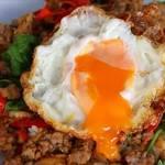 ガパオライス ข้าวผัดกระเพราะไก่ไข่ดาว