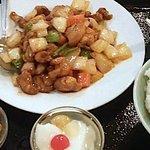 8743305 - 鶏の四川風炒め定食