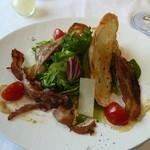 箱根ハイランドホテル ラ・フォーレ - 味噌ベーコンのサラダ