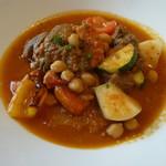 箱根ハイランドホテル ラ・フォーレ - 羊肉と野菜の煮込み