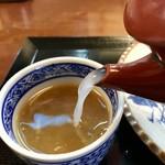 そば処 吉邦 - 蕎麦湯
