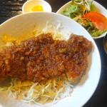 ぶう - ソースかつ丼定食