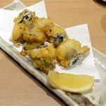 北海寿司 うに丸 - 鯵紫蘇揚げ540円
