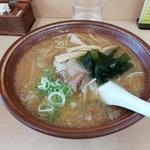 味の千龍 - 味噌ラーメン¥650円