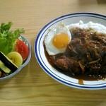お食事処 たかぎ - 料理写真:チキンカツカレー。